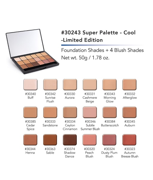 Super Palette - Limited Edition Cool