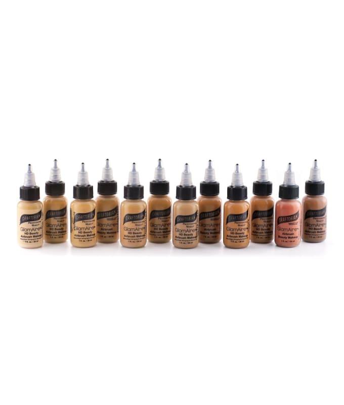 GlamAire™ Airbrush Beauty Makeup 12-pc Set