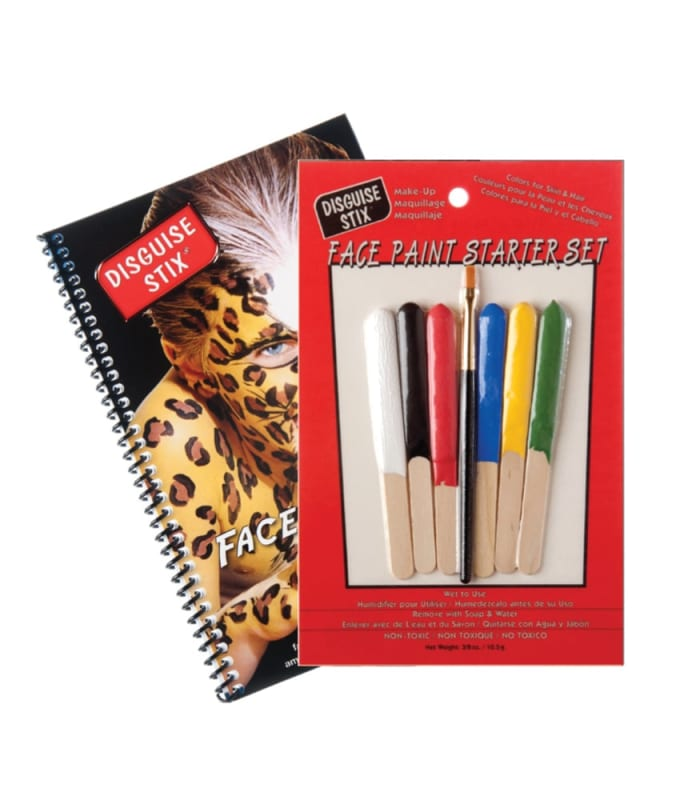 Disguise Stix -- Face Painting Starter Set W/ Book