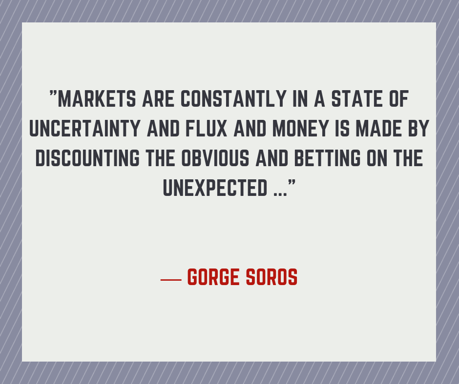 A trading Quote by Gorge Soros