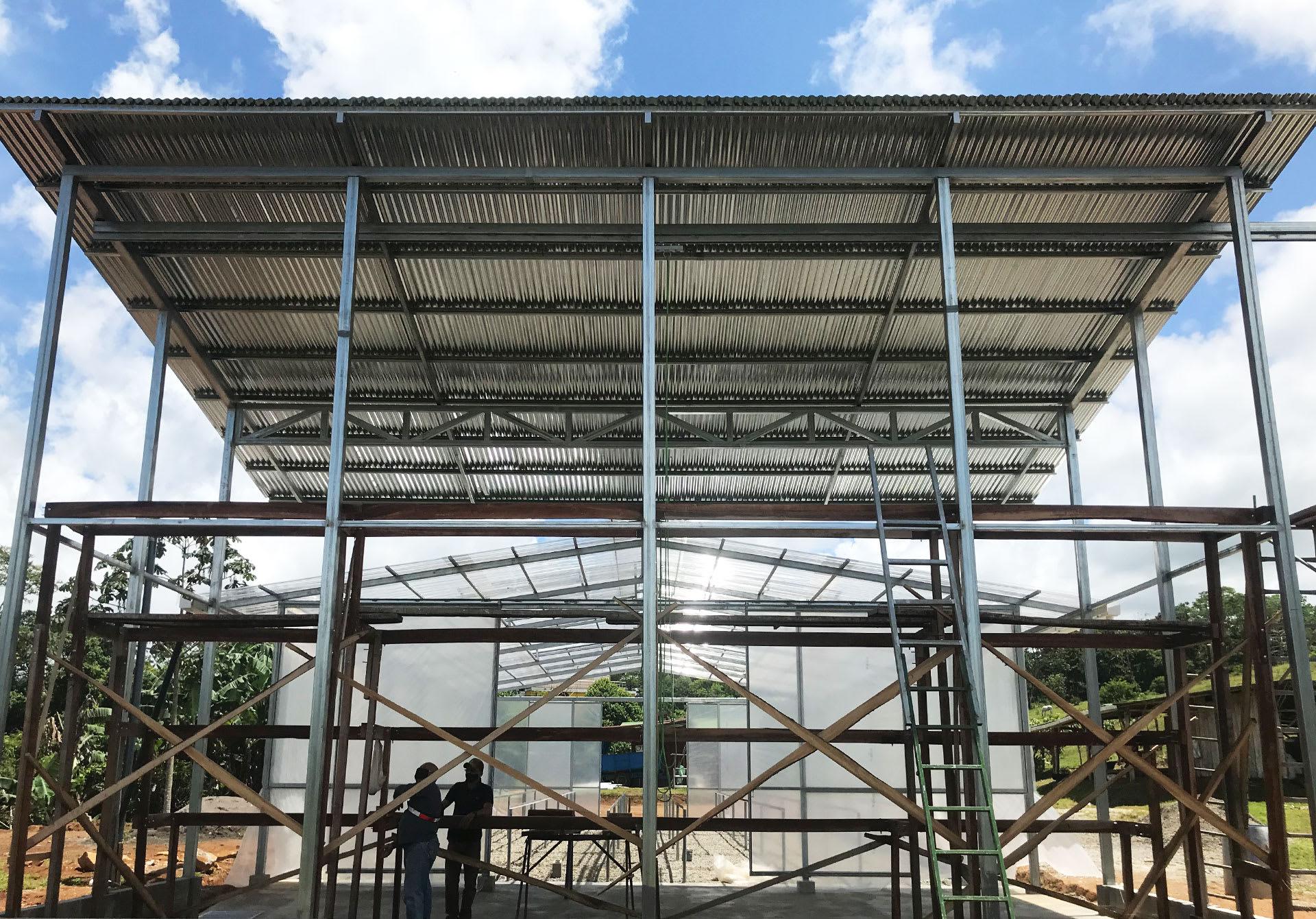 Notre station de post-récolte à énergie solaire