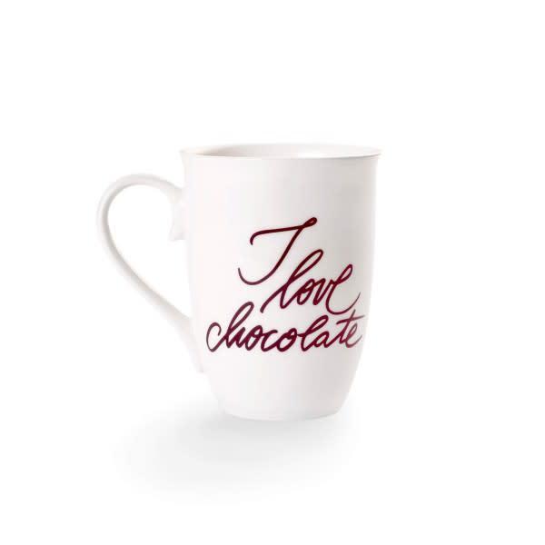 Tasse I love chocolate von Rausch