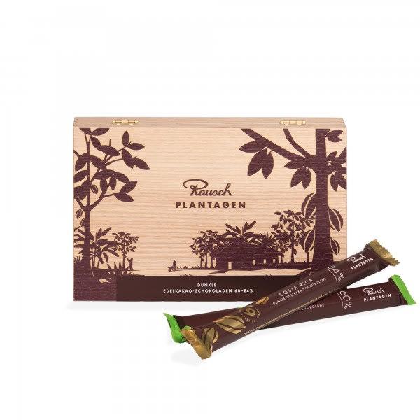 ›Rausch Plantagen‹ Holzbox dunkel