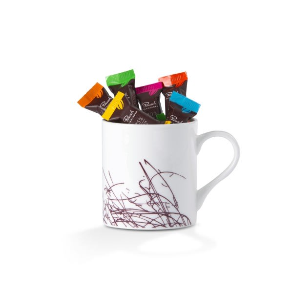 Tasse Schokolade