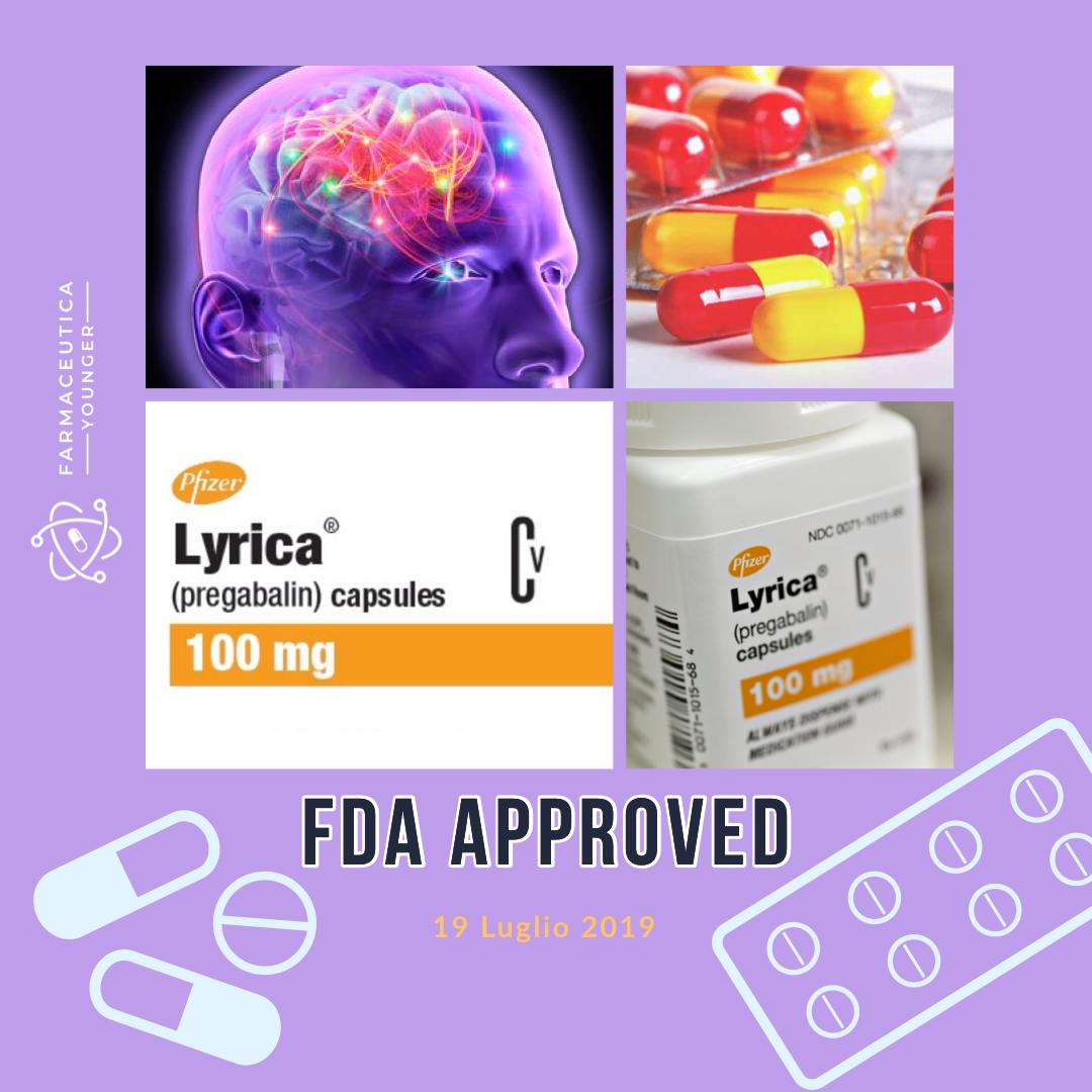 FDA APPROVAL - Lyrica generici
