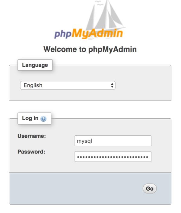 phpMyAdmin on Dokku