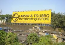 l&t interview questions