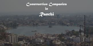 construction companies in Ranchi