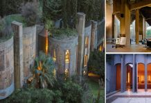 Architect Transforms Old Cement Factory Into His House