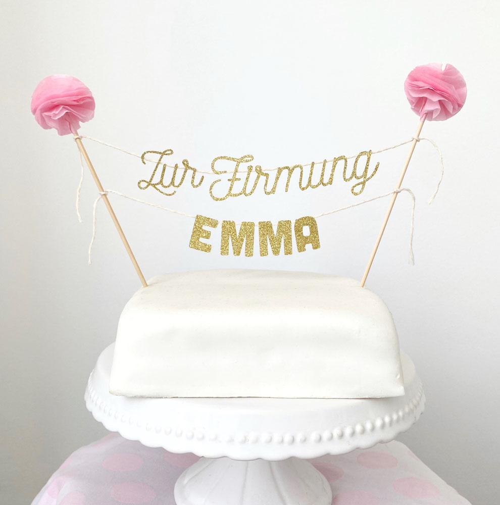 Cake Topper Firmung