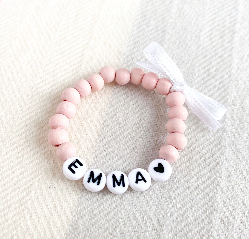 Personalised Baby Name Bracelet