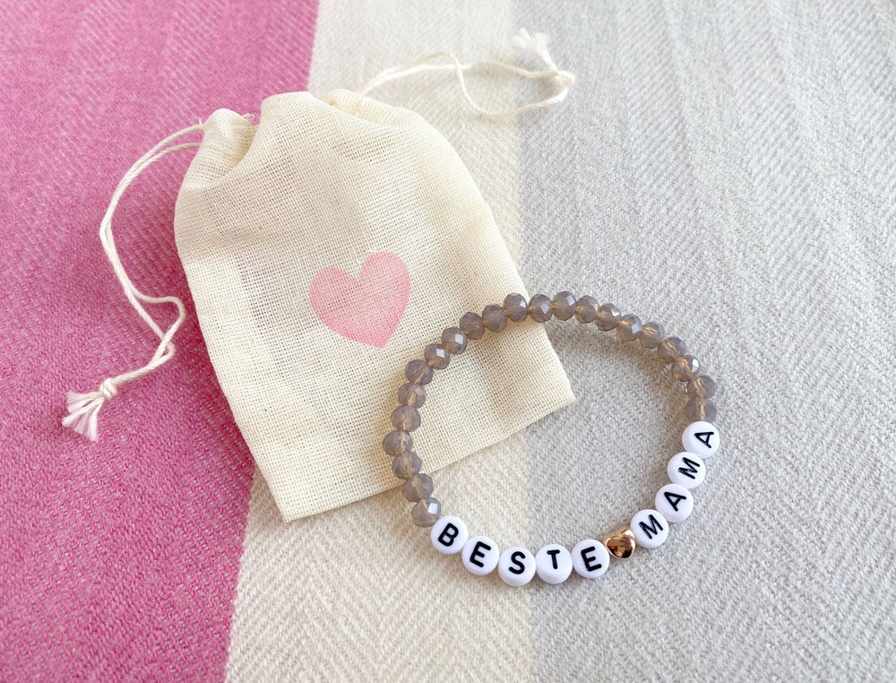 Beste Mama Armband, Perlenarmband
