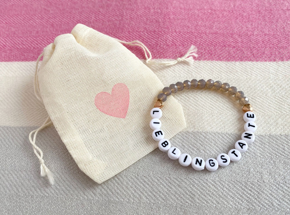 Lieblingstante Armband, Perlenarmband