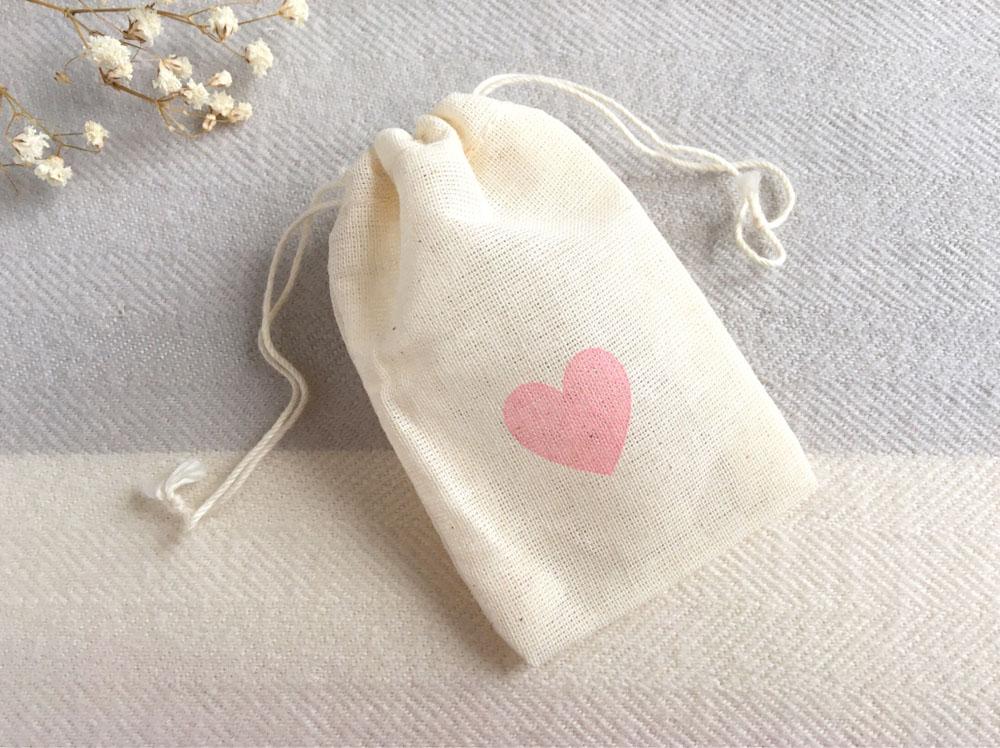 Geschenksäckchen mit Herz