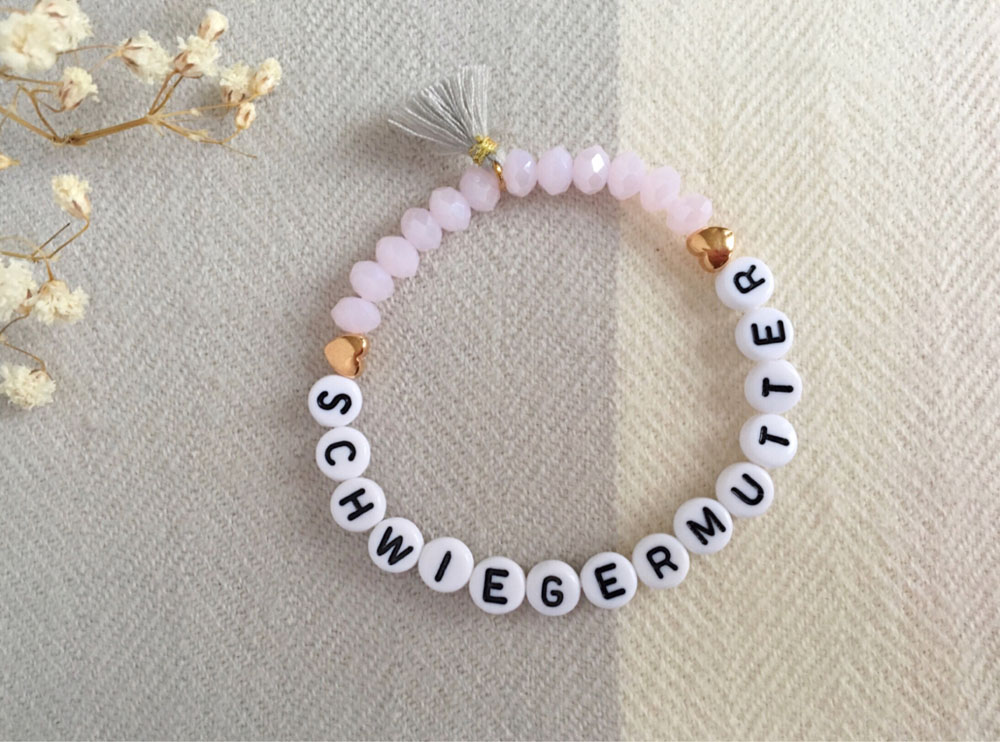 Schwiegermutter Armband, Perlenarmband