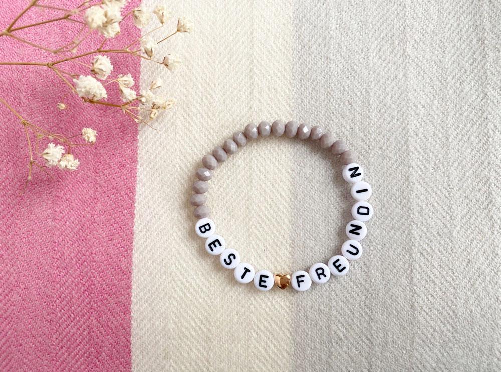 Beste Freundin Armband, Freundschaftsarmband