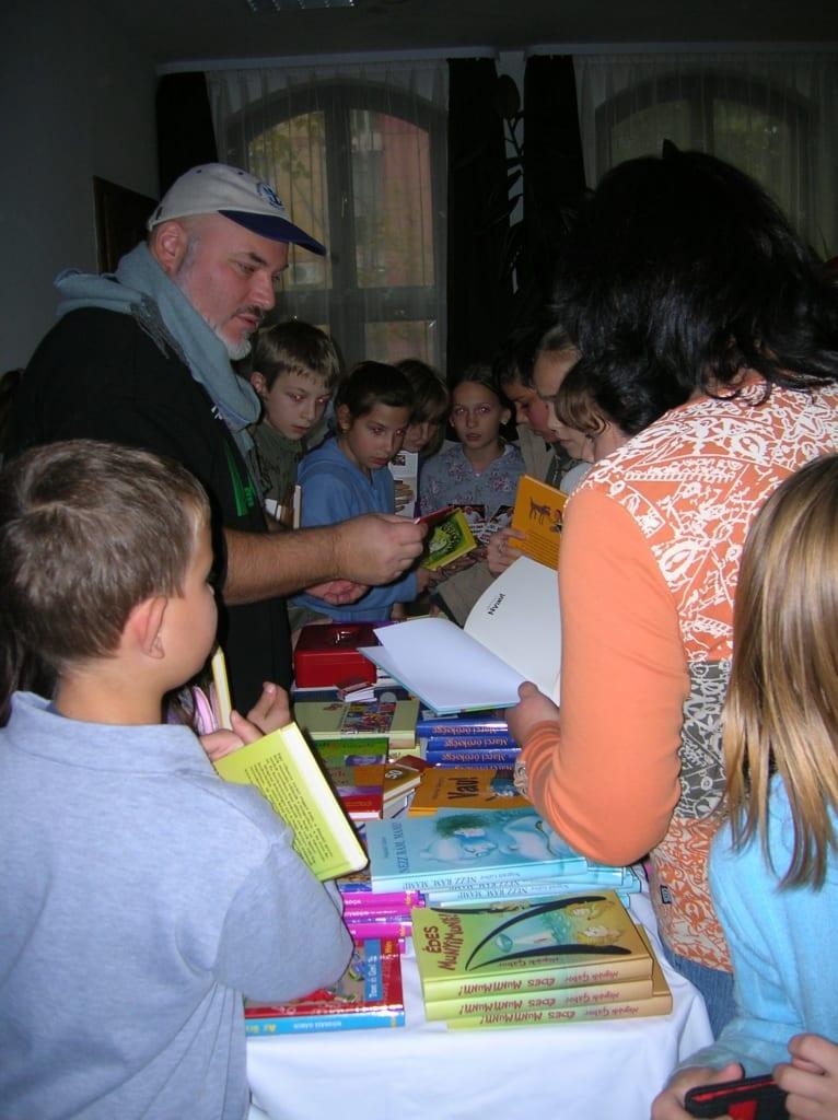 Karcag író-olvasó találkozó