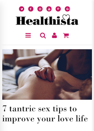 Jan Day featured in Healthista, September 2019