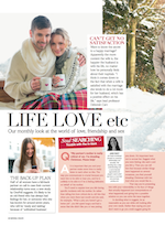 Jan Day featured in Natural Health magazine, December 2014