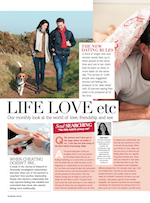 Jan Day featured in Natural Health magazine, January 2015