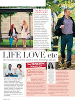 Jan Day featured in Natural Health magazine, November 2014