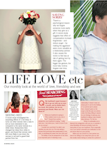 Jan Day featured in Natural Health magazine, October 2014
