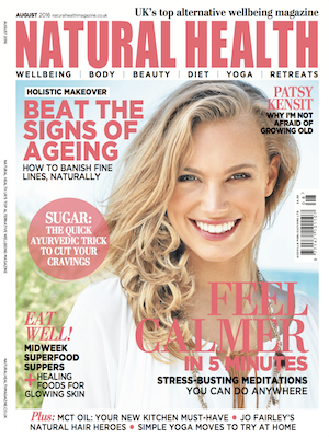 Jan Day featured in Natural Health Magazine, August 2016