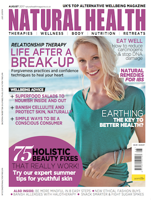 Jan Day featured in Natural Health, August 2017