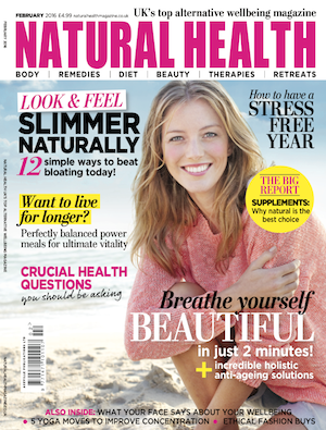 Jan Day featured in Natural Health magazine, February 2016