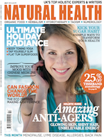 Jan Day featured in Natural Health magazine, July 2014