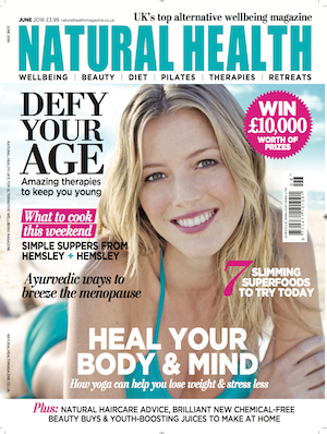 Jan Day featured in Natural Health magazine, May 2016