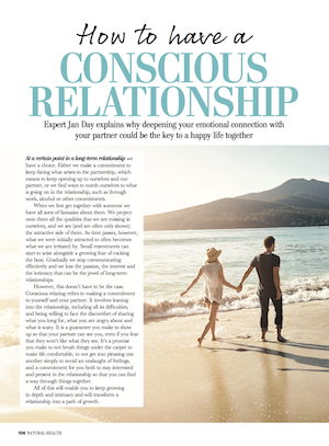 Jan Day featured in Natural Health Magazine, June 2017