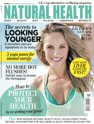 Jan Day featured in Natural Health magazine, March 2016