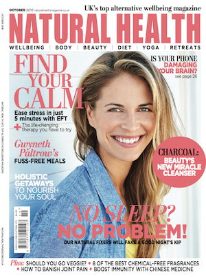 Jan Day featured in Natural Health Magazine, October 2016