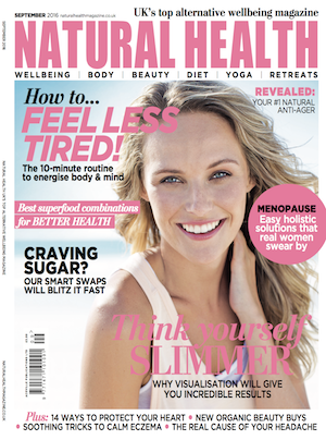 Jan Day featured in Natural Health Magazine, September 2016