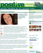 Jan Day featured in Positive News, February 2012