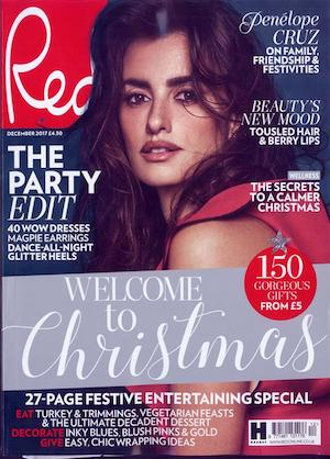 Jan Day featured in Red Magazine, December 2017