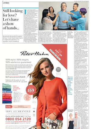 Jan Day featured in Daily Telegraph, April 2019