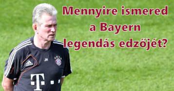 Mennyire ismered Jupp Heynckest, a Bayern legendás edzőjét?