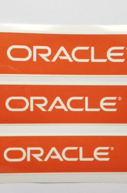 Stiker Oracle -  Vinyl Cut 1
