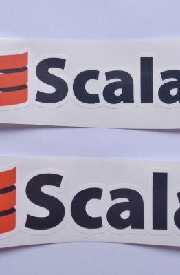 Stiker Scala - Vinyl Cut 1