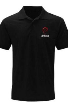 [PRE ORDER] Polo Debian - LinuxGeekers 1