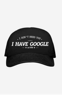 Topi Trucker I Have Google 1