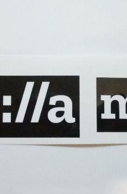 Stiker Mozilla - Vinyl Cut 1