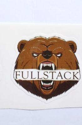 Stiker Fullstack -  Vinyl Cut 1