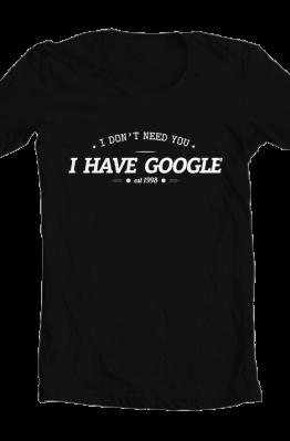 Kaos I Have Google - TLGS 1