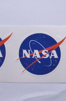 Stiker NASA - Vinyl Cut 1