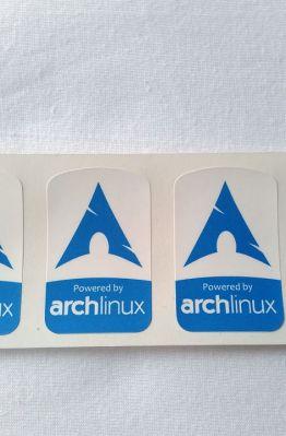 Stiker Badge Arch Linux 1