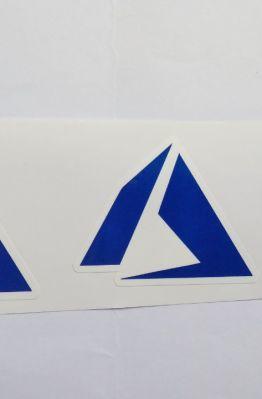 Stiker Azure - Vinyl Cut 1
