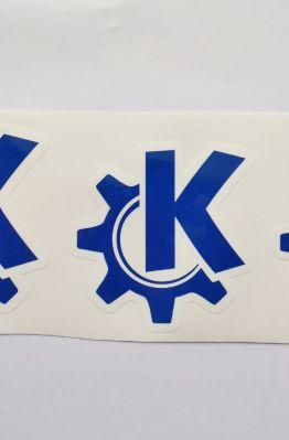 Stiker KDE -  Vinyl Cut 1